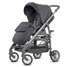 Коляска Inglesina Trilogy System Quattro 4 в 1 на шасси Trilogy Slate (AA35K6VLD + AE37K6100) Village Denim